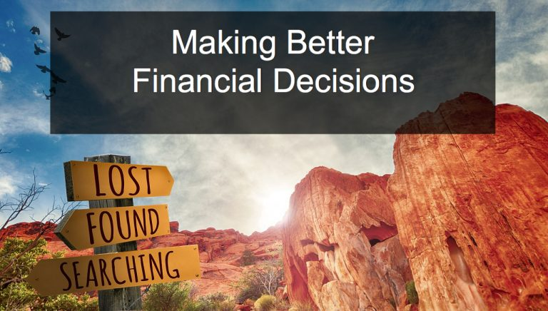 Making Better Financial Decisions